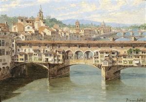 die ponte vecchio in florenz by antonietta brandeis