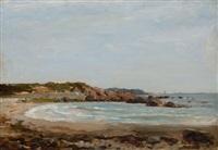new england coastline by frederick porter vinton