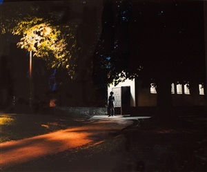 untitled (night scene) by aino kannisto