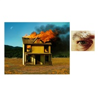 4:01pm, sun valley and eye #3 (house fire) by alex prager