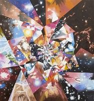 fractals caught approaching zero by james rosenquist