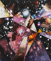 sand of the cosmic desert in every direction by james rosenquist