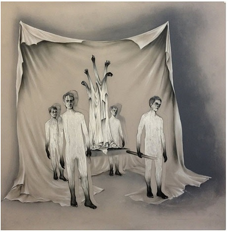 procession by anthony goicolea