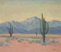 southwestern landscape by george sanders bickerstaff