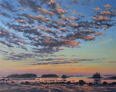 bickford point beach, low tide, 2 by nina jerome