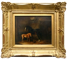mare with foal by wouter verschuur
