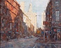 new york street scene by x. song jiang