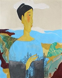 landscape of spirits by vu thu hien