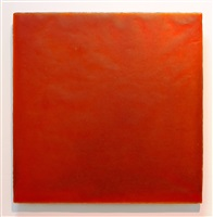 untitled 440 orange, 10.18.00 by florence pierce