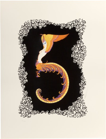 numbers suite of 10 by erté