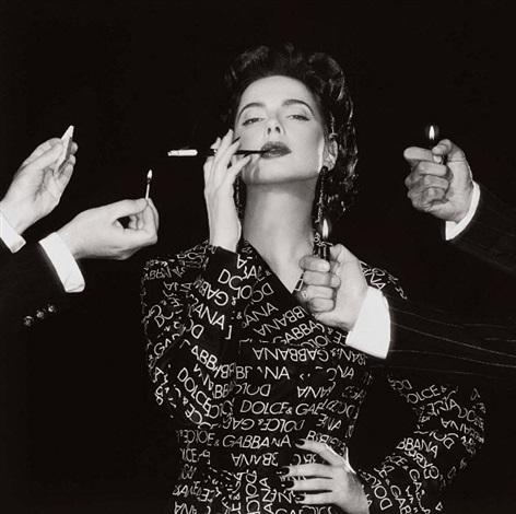 isabella rossellini, milan 1995 by michel comte