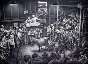 auction barn by jackson lee nesbitt