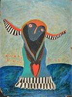 blue lady by ilija basicevic bosilj