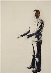autoportrait avec rien by marc séguin