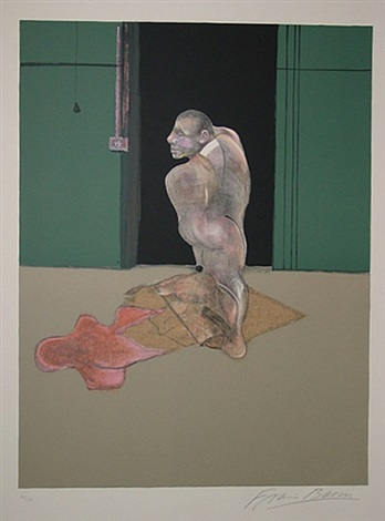 study for portrait of john edwards by francis bacon