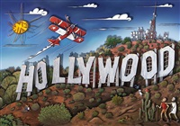 hollywoodland (ocean) by alain godon