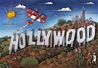 hollywoodland (ocean) by alain godon