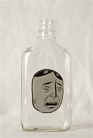 bottle 6 by barry mcgee