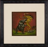 elephant demon by mark ryden