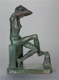 nan seated by sir jacob epstein