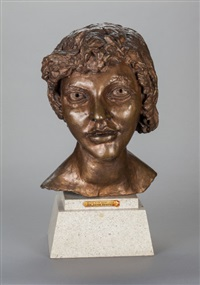 2nd portrait of kitty (kitty with short hair) by sir jacob epstein