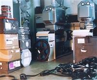 arsenal - film on floor by teresa hubbard and alexander birchler