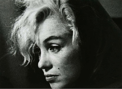 portrait of marilyn monroe by arnold newman
