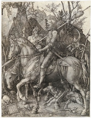 knight, death and devil by albrecht dürer