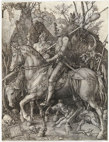 knight, death and devil by albrecht dürer