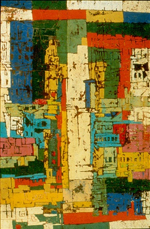 san francisco- city of many colors by karl zerbe