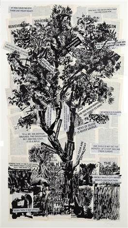 if you have no eye by william kentridge