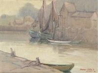 harbor scene by dawson dawson-watson
