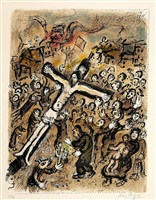 le martyr (the martyr) by marc chagall