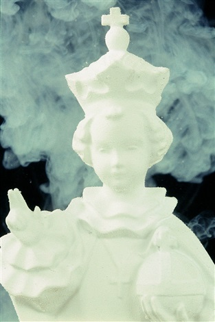 white baby jesus by andres serrano