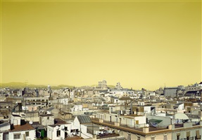 roofs of barcelona by hannah collins