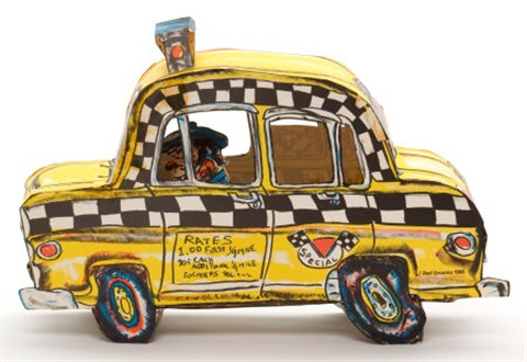 rukus taxi 4 works by red grooms