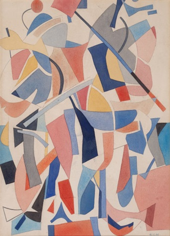abstract composition by carl robert holty