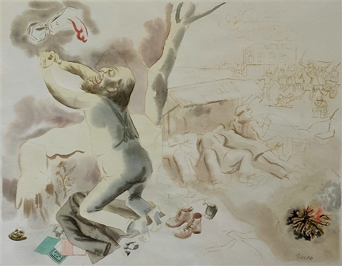 christus am oelberg by george grosz