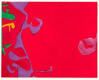 morning red by patrick heron
