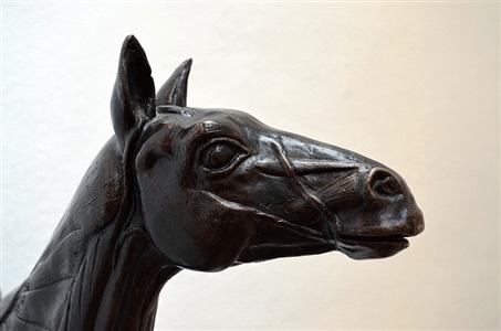 anatomy of horse (close detail image) by sir eduardo paolozzi