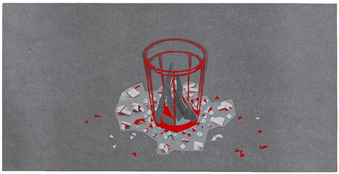 may (drinking glass, fire) by laurence kavanagh