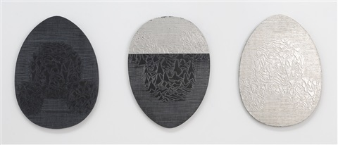 no more lines to cross ( triptych) by slater bradley