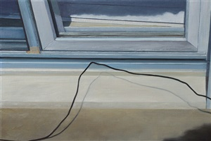 """""""untitled (window and grounding wire)"""" by lillian bayley hoover"""