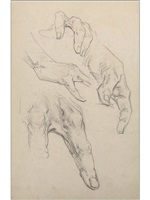 hands i by george brandt bridgman