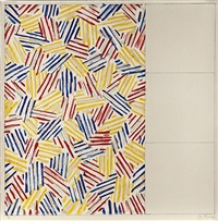 number 1 by jasper johns