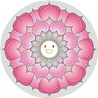 lotus flower (pink) by takashi murakami