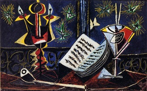 nature morte by pablo picasso