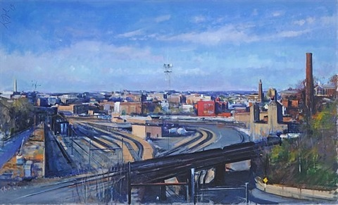 view from brentwood bridge by martin j. kotler