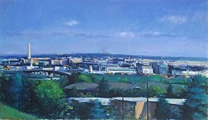 looking west, view from anacostia by martin j. kotler