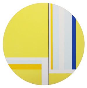 yellow tondo by ilya bolotowsky